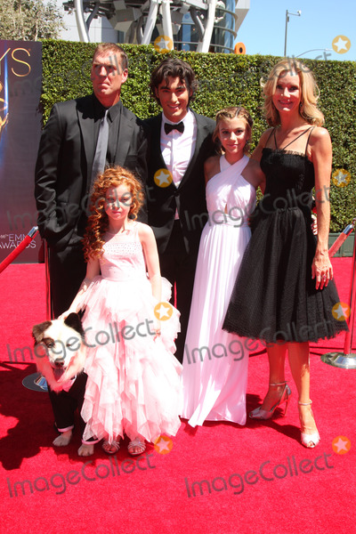 Francesca Capaldi Photo - LOS ANGELES - AUG 16  Kuma Regan Burns Francesca Capaldi Blake Michael G Hannelius Beth Littleford at the 2014 Creative Emmy Awards - Arrivals at Nokia Theater on August 16 2014 in Los Angeles CA