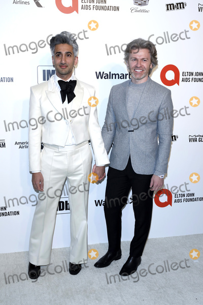 Tan France Photo - LOS ANGELES - FEB 9  Tan France Peter France at the 28th Elton John Aids Foundation Viewing Party at the West Hollywood Park on February 9 2020 in West Hollywood CA