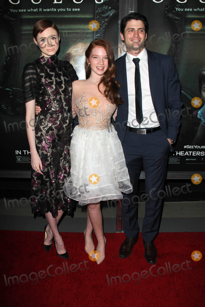 Annalise Basso Photo - LOS ANGELES - APR 3  Karen Gillan Annalise Basso James Lafferty at the Oculus Los Angeles Screening at the TCL Chinese 6 Theaters on April 3 2014 in Los Angeles CA