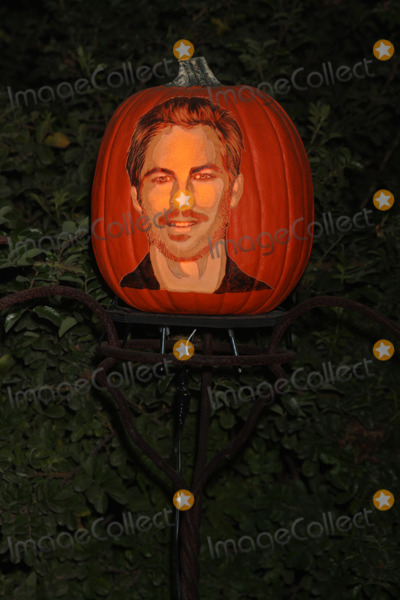 Paul Walker Photo - LOS ANGELES - OCT 4  Paul Walker Carved Pumpkin at the RISE of the Jack OLanterns at Descanso Gardens on October 4 2014 in La Canada Flintridge CA