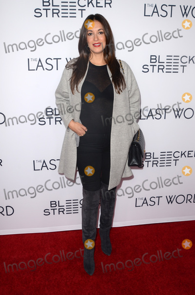 Angelique Cabral Photo - LOS ANGELES - MAR 1  Angelique Cabral at the The Last Word Los Angeles Premiere at the ArcLight Theater on March 1 2017 in Los Angeles CA