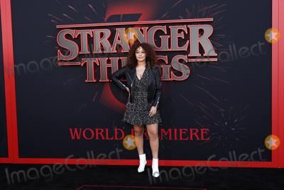 Talia Jackson Photo - LOS ANGELES - JUN 28  Talia Jackson at the Stranger Things Season 3 World Premiere at the Santa Monica High School on June 28 2019 in Santa Monica CA