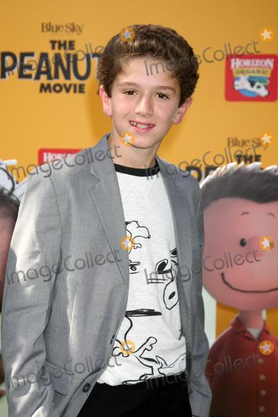 AJ Tecce Photo - LOS ANGELES - NOV 1  AJ Tecce at the The Peanuts Movie Los Angeles Premiere at the Village Theater on November 1 2015 in Westwood CA