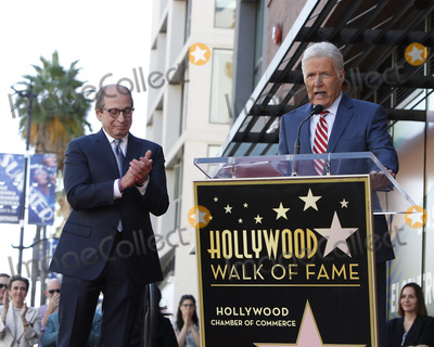 Alex Trebek Photo - LOS ANGELES - NOV 24  Harry Friedman Alex Trebek at the Harry Friedman Star Ceremony on the Hollywood Walk of Fame on November 24 2019 in Los Angeles CA
