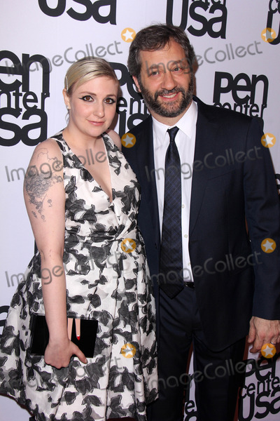 Lena Dunham Photo - LOS ANGELES - NOV 11  Lena Dunham Judd Apatow at the PEN Center USA 24th Annual Literary Awards at the Beverly Wilshire Hotel on November 11 2014 in Beverly Hills CA