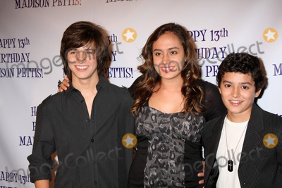 Erin Unger Photo - LOS ANGELES - JUL 31  Billy Unger Erin Unger Eric Unger arriving at the13th Birthday Party for Madison Pettis at Eden on July 31 2011 in Los Angeles CA