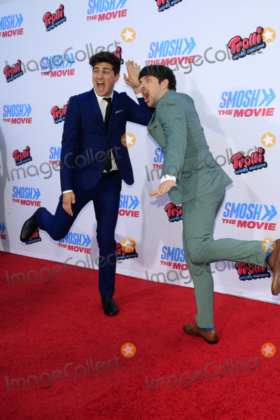 Anthony Padilla Photo - LOS ANGELES - JUL 22  Anthony Padilla Ian Hecox at the SMOSH THE MOVIE  Premiere at the Village Theater on July 22 2015 in Westwood CA