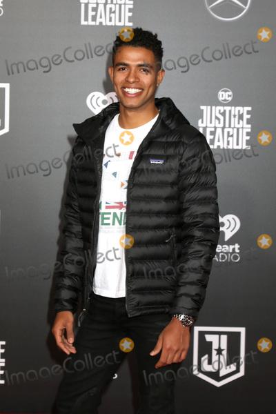 Mandela Van Peebles Photo - LOS ANGELES - NOV 13  Mandela Van Peebles at the World Premiere of Justice League at Dolby Theater on November 13 2017 in Los Angeles CA