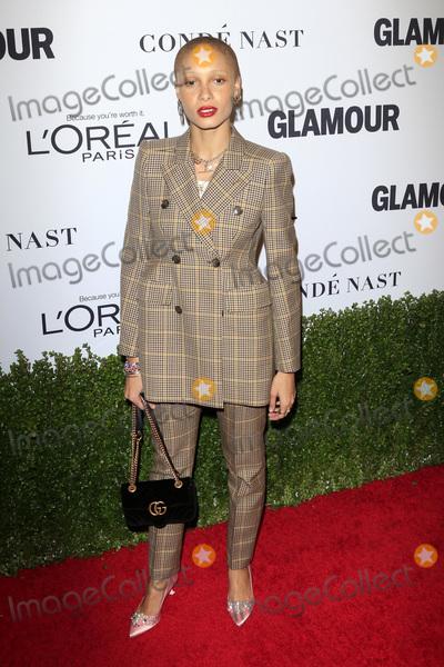 Adwoa Aboah Photo - LOS ANGELES - NOV 14  Adwoa Aboah at the Glamour Women Of The Year 2016 at NeueHouse Hollywood on November 14 2016 in Los Angeles CA