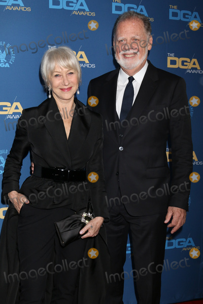 Taylor Hackford Photo - LOS ANGELES - FEB 2  Helen Mirren Taylor Hackford at the 2019 Directors Guild of America Awards at the Dolby Ballroom on February 2 2019 in Los Angeles CA
