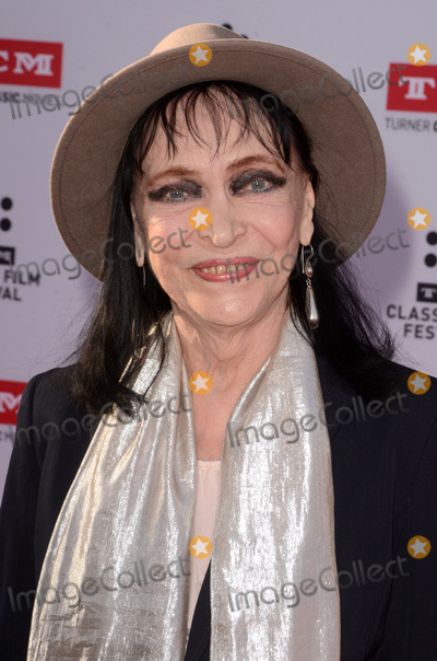 Anna Karina Photo - LOS ANGELES - APR 28  Anna Karina at the TCM Classic Film Festival Opening Night Red Carpet at the TCL Chinese Theater IMAX on April 28 2016 in Los Angeles CA