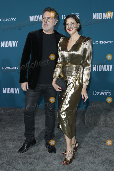 Harald Kloser Photo - LOS ANGELES - NOV 5  Harald Kloser Annie Trousseau at the Midway Premiere at the Village Theater on November 5 2019 in Westwood CA
