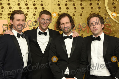 Beck Photo - LOS ANGELES - SEP 22  Beck Bennet Kyle Mooney Alex Moffat Mickey Day at the Primetime Emmy Awards - Arrivals at the Microsoft Theater on September 22 2019 in Los Angeles CA