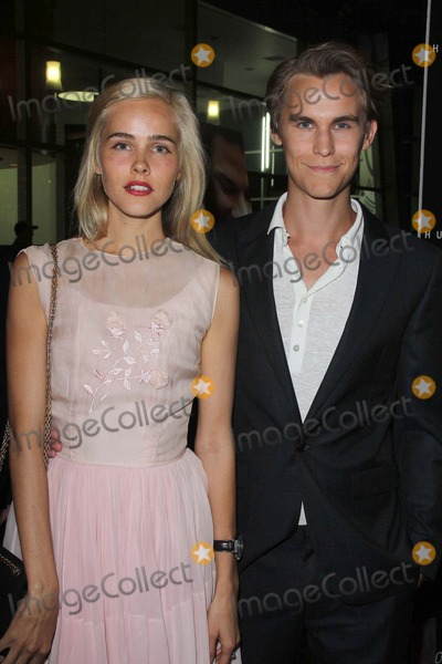 Rhys Wakefield Photo - LOS ANGELES - OCT 2  Isabel Lucas Rhys Wakefield arrives at the Nobody Walks - Los Angeles Premiere at ArcLight Hollywood on October 2 2012 in Los Angeles CA