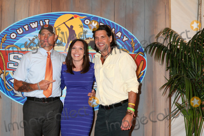 Troyzan Robertson Photo - LOS ANGELES - MAY 24  Brad Culpepper Sarah Lacina Troyzan Robertson at the Survivor Game Changers - Mamanuca Islands Finale at the CBS Studio Center on May 24 2017 in Studio City CA