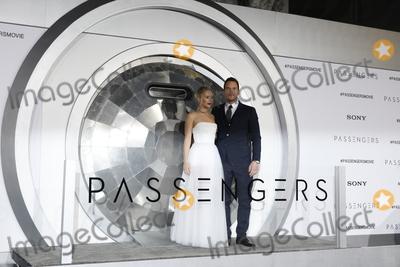 Jennifer Lawrence Photo - LOS ANGELES - DEC 14  Jennifer Lawrence Chris Pratt at the Passengers Premiere at Village Theater on December 14 2016 in Westwood CA