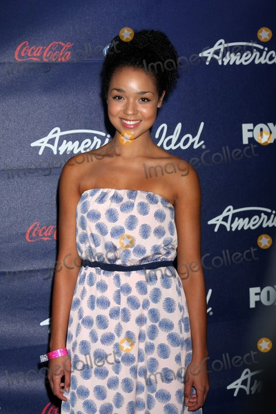 Aisha Dee Photo - LOS ANGELES - MAR 1  Aisha Dee arrives at the American Idol Season 11 Top 13 Party at the The Grove Parking Structure Rooftop on March 1 2012 in Los Angeles CA