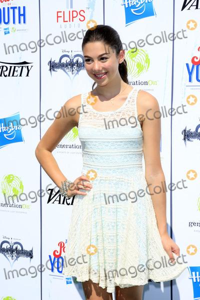 Kira Kosarin Photo - LOS ANGELES - JUL 27  Kira Kosarin at the Varietys Power of Youth  at Universal Studios Backlot on July 27 2013 in Los Angeles CA