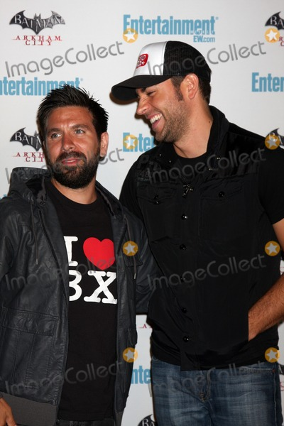 Joshua Gomez Photo - LOS ANGELES - JUL 23  Joshua Gomez Zachary Levi arriving at the EW Comic-con Party 2011 at EW Comic-con Party 2011 on July 23 2011 in Los Angeles CA