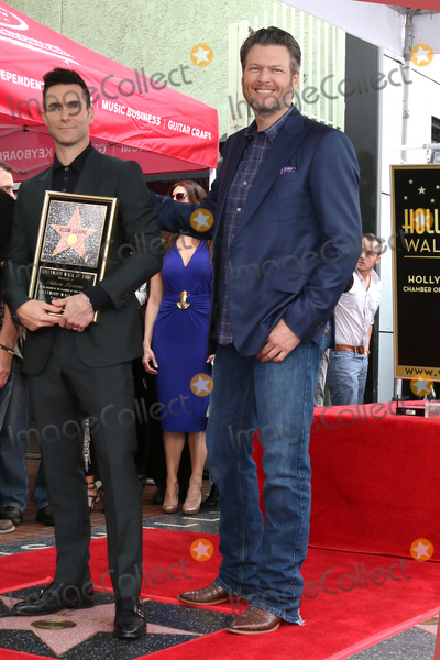 Adam Levine Photo - LOS ANGELES - FEB 10  Adam Levine Blake Shelton at the Adam Levine Hollywood Walk of Fame Star Ceremony at Musicians Institute on February 10 2017 in Los Angeles CA