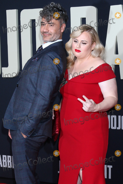 Rebel Wilson Photo - LOS ANGELES - OCT 15  Taika Waititi Rebel Wilson at the Jojo Rabbit Premiere at the American Legion Post 43 on October 15 2019 in Los Angeles CA