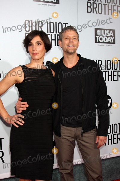 Adam Pascal Photo - LOS ANGELES - AUG 16  Cybele Chivian Adam Pascal arriving at the Our Idiot Brother Premiere at Cinerama Dome ArcLight Theaters on August 16 2011 in Los Angeles CA