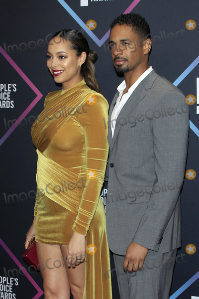 Amber Stevens Photo - LOS ANGELES - NOV 11  Amber Stevens West Damon Wayans Jr at the Peoples Choice Awards 2018 at the Barker Hanger on November 11 2018 in Santa Monica CA