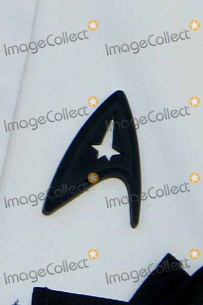 Anton Yelchin Photo - LOS ANGELES - JUL 20  Simon Peggs Black Starfleet delta badge worn in tribute to Anton Yelchin at the Star Trek Beyond World Premiere at the Embarcadero Marina on July 20 2016 in San Diego CA