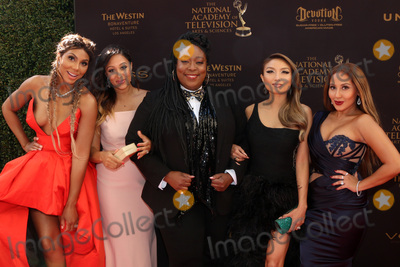 Adrienne Bailon Photo - LOS ANGELES - MAY 1  Tamar Braxton Tamera Mowry-Housley Loni Love Jeannie Mai Adrienne Bailon at the 43rd Daytime Emmy Awards at the Westin Bonaventure Hotel  on May 1 2016 in Los Angeles CA