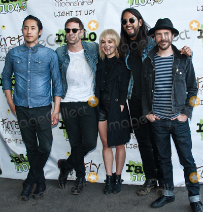 Airborne Toxic Event Photo - PHILADELPHIA PA USA - MAY 03 The Airborne Toxic Event Pose at Radio 1045s Summer Block Party at Festival Pier on May 03 2015 in Philadelphia Pennsylvania United States (Photo by Paul J FroggattFamousPix)