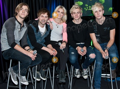 Rydel Lynch Photo - BALA CYNWYD PA - MARCH 26 (L to R) Rocky Lynch Ellington Ratliff Rydel Lynch Ross Lynch and Riker Lynch of American Pop Band R5 Pose at Q102s Performance Theatre on March 26 2014 in Bala Cynwyd Pennsylvania (Photo by Paul J FroggattFamousPix)
