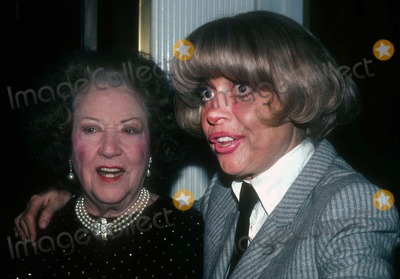 Ethel Merman Photo - Ethel Merman Carol Channing1009JPG1982 FILE PHOTONew York NYEthel Merman Carol ChanningPhoto by Adam Scull-PHOTOlinknet
