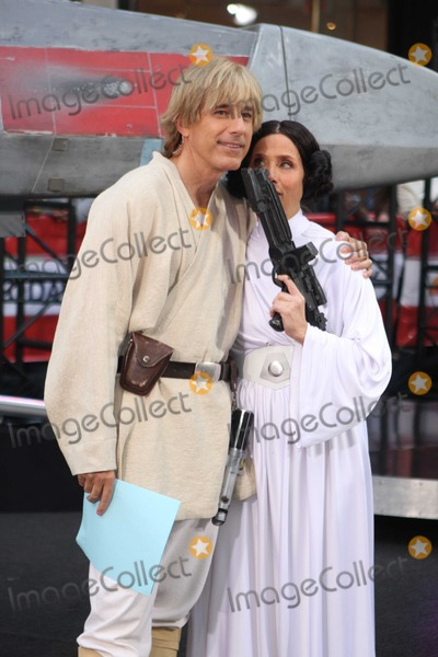 Natalie Morales Photo - New York 10-30-09Star Wars was the Halloween theme for this yearscostumes on the Today Show Anne Curry as Darth Vadar Matt Lauer as Luke Skywalker Natalie Morales as Queen Padm Amidala Hoda Kotb as Yoda Meredith Vieira as Princess Leia Kathy Lee Gifford as C3PO and Al Roker as Han Solo for Halloween on NBCS Today ShowDigital photo by Maggie Wilson-PHOTOlinknet