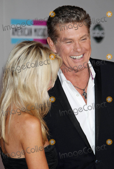 Hayley Roberts Photo - Photo by REWestcomstarmaxinccom2011ALL RIGHTS RESERVEDTelephoneFax (212) 995-1196112011David Hasselhoff and Hayley Roberts at the American Music Awards(Los Angeles CA)