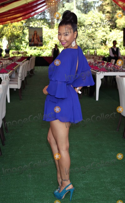 Hiromi Oshima Photo - Photo by REWestcomStarmaxinccom2013ALL RIGHTS RESERVEDTelephoneFax (212) 995-11965913Hiromi Oshima Playboys 2013 Playmate Of The Year luncheon at The Playboy Mansion (Holmby Hills CA)