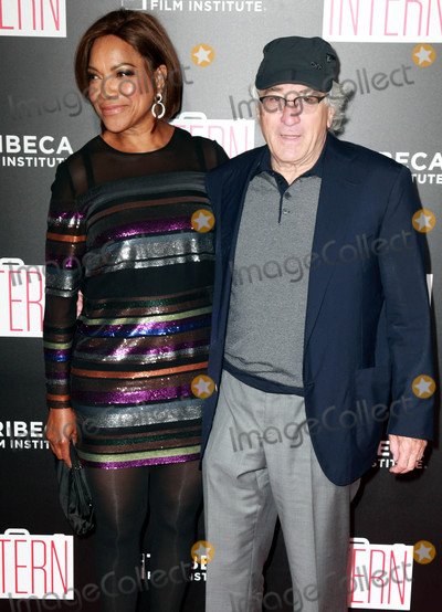 Grace Hightower Photo - Photo by KGC-146starmaxinccomSTAR MAXCopyright 2015ALL RIGHTS RESERVEDTelephoneFax (212) 995-119692115Grace Hightower and Robert De Niro at the premiere of The Intern(NYC)