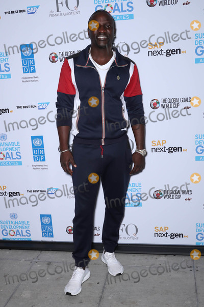 Akon Photo - Photo by John NacionstarmaxinccomSTAR MAX2018ALL RIGHTS RESERVEDTelephoneFax (212) 995-119692518Akon at The 2018 3rd Annual Global Goals World Cup Event in New York City