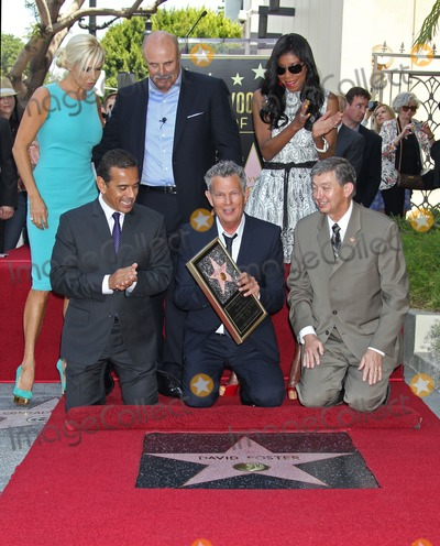 Yolanda Hadid Photo - Photo by REWestcomStarmaxinccom2013ALL RIGHTS RESERVEDTelephoneFax (212) 995-119653113Yolanda Hadid Dr Phil McGraw Natalie Cole Antonio Villaragosa David Foster Leron Gubler David Foster honored with a star on the Hollywood Walk of Fame in front of the Capital Records Building (Hollywood CA)