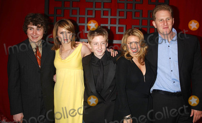 Anita Barone Photo - Photo by Stephen Truppstarmaxinccom200651806Kyle Sullivan Kaylee DeFer Dean Collins Anita Barone and Michael Rapaport from the cast of The War At Home at the FOX Upfront(NYC)
