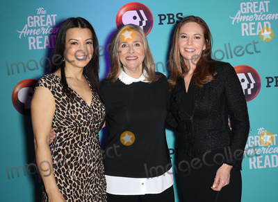 Meredith Vieira Photo - Photo by John NacionstarmaxinccomSTAR MAXCopyright 2018ALL RIGHTS RESERVEDTelephoneFax (212) 995-119642018Ming-Na Wen Meredith Vieira and Diane Lane at the PBS Television Network launch of The Great American Read in New York City(NYC)