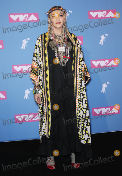 Madonna Photo - Photo by Rothschild MediastarmaxinccomSTAR MAX2018ALL RIGHTS RESERVEDTelephoneFax (212) 995-119682018Madonna at the 2018 MTV Video Music Awards at Radio City Music Hall in New York City