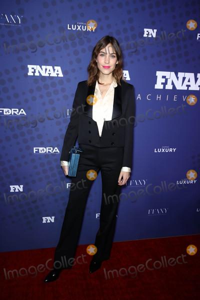 Alexa Chung Photo - Photo by John NacionstarmaxinccomSTAR MAX2017ALL RIGHTS RESERVEDTelephoneFax (212) 995-1196112817Alexa Chung at the 31st FN Achievement Awards in New York City