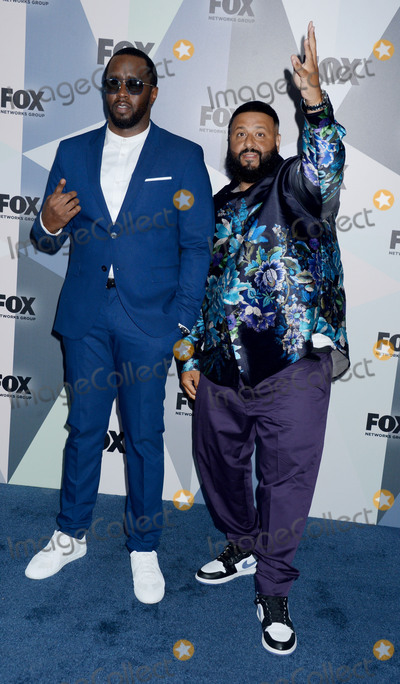 Diddy Combs Photo - Photo by Dennis Van TinestarmaxinccomSTAR MAXCopyright 2018ALL RIGHTS RESERVEDTelephoneFax (212) 995-119651418Sean P Diddy Combs and DJ Khaled at The 2018 Fox Network Upfront in New York City(NYC)