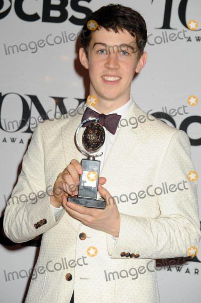 Alex Sharp Photo - Photo by Dennis Van TinestarmaxinccomSTAR MAX2015ALL RIGHTS RESERVEDTelephoneFax (212) 995-11966715Alex Sharp at The American Theatre Wings 69th Annual Tony Awards(Radio City Music Hall NYC)