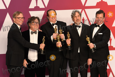 Jim Burke Photo - Photo by Doug PetersstarmaxinccomSTAR MAXCopyright 2019ALL RIGHTS RESERVEDTelephoneFax (212) 995-119622419Jim Burke Charles B Wessler Brian Currie Peter Farrelly and Nick Vallelonga winners of the awards for Best Picture and Best Original Screenplay for Green Book at the 91st Annual Academy Awards (Oscars) presented by the Academy of Motion Picture Arts and Sciences(Hollywood CA USA)