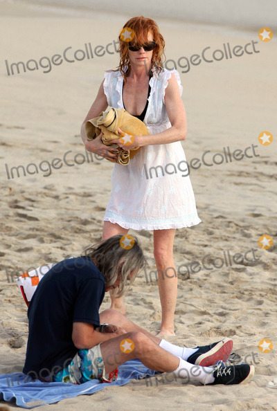 Marg Helgenberger Photo Marg Helgenberger On Holiday In St Barts The French Caribbean