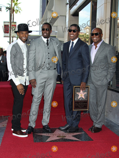 Antonio LA Reid Photo - Photo by REWestcomStarmaxinccom2013ALL RIGHTS RESERVEDTelephoneFax (212) 995-1196101013Usher Sean P Diddy Combs Kenny Babyface Edmonds Antonio LA ReidKenny Babyface Edmonds  Kenny Babyface Edmonds honored with a star on the Hollywood Walk of Fame in front of the W Hotel in (Hollywood CA)