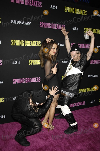 ATL Photo - ATL Twins during the premiere of the new movie from A24 SPRING BREAKERS held at the Arclight Cinema on March 14 2013 in Los AngelesPhoto Michael Germana Star Max