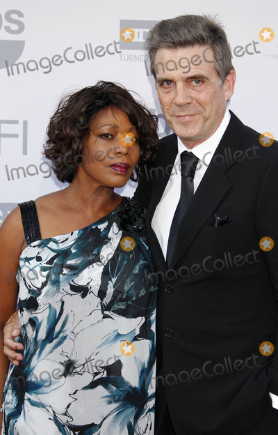 Alfre Woodard Photo - Photo by REWestcomstarmaxinccomSTAR MAX2015ALL RIGHTS RESERVEDTelephoneFax (212) 995-11966415Alfre Woodard and Roderick Spencer at the 43rd AFI Life Achievement Award Gala(Dolby Theatre Hollywood CA)