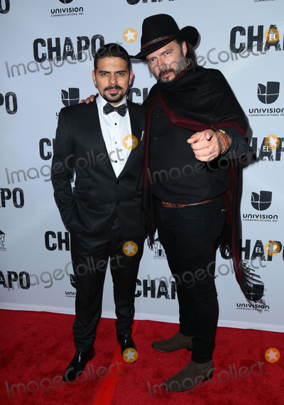 El Chapo Photo - Photo by gotpapstarmaxinccomSTAR MAXCopyright 2017ALL RIGHTS RESERVEDTelephoneFax (212) 995-119641917Alejandro Aguilar and Rodrigo Abed at the premiere of El Chapo(Los Angeles CA)